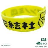 Crear el Wristband colorido del silicón para requisitos particulares para la promoción