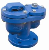 BS Ductile Iron Double Ball Automatic Air Valve с Epoxy Coating