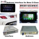 Interfaz androide de la navegación del coche para el Benz - C, Cla, Clk, B, a, E, navegación del tacto de la mejora de la CGL (NTG5.0), WiFi, BT, Mirrorlink, HD 1080P, correspondencia de Google, juego