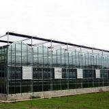 Парник Multispan надувательства аграрный стеклянный