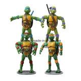 Il Tortoise di plastica della fabbrica di natale ICTI del PVC dell'OEM scherza i giocattoli del bambino