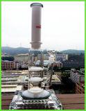 Neue kommende Jade-Dreiergruppe 2 Schichten Bienenwabe-Platten-filtrieren rauchendes Wasser-Glasrohr
