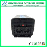 convertisseur de pouvoir pur de sinus d'inverseurs de 4000W DC24V AC220/240V (QW-P4000)