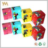 Scatola di cartone di carta pieghevole su ordinazione del contenitore di regalo