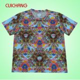 Full Print Sublimation Print Tee Shirts (AT-034)