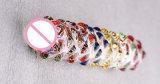 Brinquedo de cristal do sexo do vibrador para as mulheres Injo-Dg029