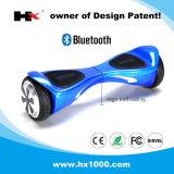 Individu élevé de roue de la capacité d'écoulement du trafic deux équilibrant le scooter d'Unicycle de Hoverboard