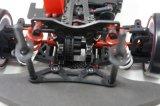 Carro de corridas 1/10 sem escova da energia eléctrica de Firelap com forma preta