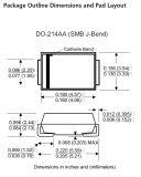 Las TV escogen el componente electrónico de Smbj10ca del diodo