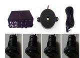 Nessun LED Display Truck Parking Sensor System con 4 Sensors Buzzer Alarm