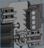 BS203 CNCの旋盤の新しい状態の自在継手3の軸線販売のための小型自動CNCの回転旋盤