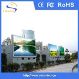 Exhibición de LED a todo color al aire libre del gabinete P5 del hierro de la fábrica de Experiened