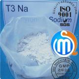 Сырцовый стероидный натрий T3 Cytomel Liothyronine порошка для потери веса