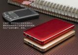 安い価格の金属の皮の本の形の全能力の二重出力8000mAh携帯用充電器