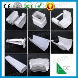 Prix bon marché de vente du Nigéria de creux de la jante de pluie de toit de fabrication de Guangzhou de creux de la jante chaud de PVC