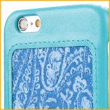 Caja del Teléfono Móvil Caja de Cuero PU para Venta al por Mayor IPhone 6 Cubierta de China