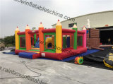 주문을 받아서 만들어진 Bouncer 및 Obstacle Inflatable Pencil Theme Park