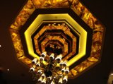 Panneau translucide de résine pour la lampe