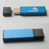 Movimentação de alumínio do flash do USB do logotipo feito sob encomenda da gravura do laser (YT-1113)