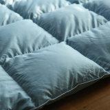 o ganso 100% branco da tampa 95% do algodão 400t estofa para baixo