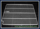 Acier inoxydable /PE enduisant la grille soudée pour le stockage de nourriture de congélateur
