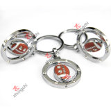 Olympic Games Souvier (ZC-KRS01-05)를 위한 금속 Football Basketball Soccor Keychain