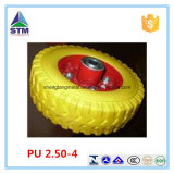 Kundenspezifische haltbare Plastikkante PU-Räder