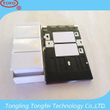 Cartão dobro do PVC do Inkjet da impressão dos lados