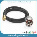 De Coaxiale Kabel van rf LMR400 met de Schakelaars van N