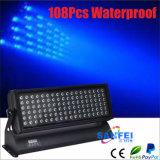 LED 108PCS*3W imperméabilisent la lumière de rondelle de lavage