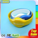 Pagamento de Cashless dos braceletes dos Wristbands do silicone de MIFARE DESFire EV1 8K RFID