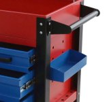 Pièces d'auto Handtool Mobile 4 Drawers Highquality Garage Tool Cabinet avec Drawers