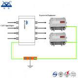 Dispositif de protection de saut de pression de foudre de signal de la télévision par câble 60ka CATV