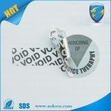 Beverage Bottle를 위한 Void Warranty Seal Sticker를 여십시오