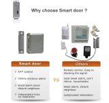 Protección del hogar del monitor de la alarma de puerta del perseguidor del G/M contra el ladrón casero teledirigido con el protector de puerta del teléfono móvil