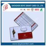 A maioria venda e de cartão popular do plástico do PVC