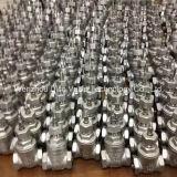 Tipo pesado válvula de porta da roda do punho do aço inoxidável CF8/CF8m
