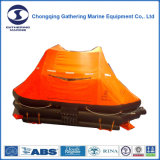 O liferaft inflável Self-Righting do SOLAS, Joga-Ao mar o liferaft