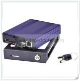 4 Kanal H. 264 Sd Card 3G Mobile DVR mit GPS Tracking