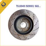 Garnitures automatiques de frein à disque de frein de pièce de rechange de fer de fonte
