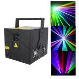 Proyector ligero de la etapa del laser del RGB para la Navidad