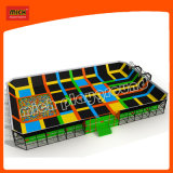 Grand Sport Play Indoor Trampoline Factory avec Safety Net