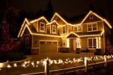 Quirlande électrique actionnée solaire de chaîne de caractères de la décoration DEL de mariage de Noël d'usager