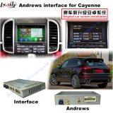 Interfaz de la navegación para Porsche-Macan, Pimienta, Panamera; Aumentar la navegación del tacto, WiFi, BT, Mirrorlink, HD 1080P, correspondencia de Google