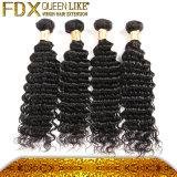 最上質の健全なクチクラインドの毛の織り方4束の