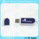 Impulsión de la pluma diseño agradable Elipse plástico USB (ZYF1270)
