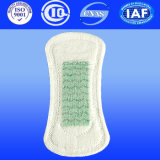 160mm Panty Liner avec médecine Herb, Ultra-Thin Panty Liner Respirant, sans ailes