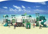 Kaiqi ausländische Serien-im Freien Plastikspielplatz-Gerät mit Abenteuer-Aktivitäten