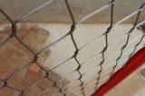 Flessibile X-Tendere la maglia della fune metallica dell'acciaio inossidabile