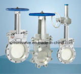 Form Steel Wafer Type (rundes) Knife Gate Valve
